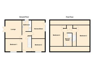 Thumbnail 4 bed detached bungalow for sale in Plot 3, Springfield Road, Grimethorpe, Barnsley