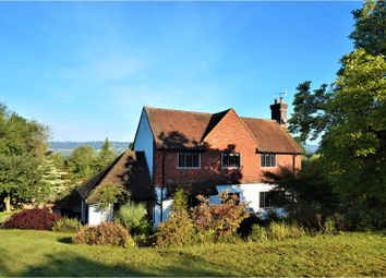 Thumbnail 4 bed detached house for sale in Uvedale Road, Oxted