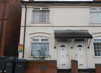 Thumbnail 3 bed end terrace house to rent in Salibury Road, Birmingham