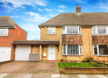 Thumbnail 3 bed semi-detached house for sale in Kennersdene, Tynemouth, North Shields