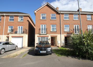 Thumbnail 4 bedroom town house for sale in Beaufort Square, Cardiff