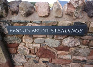 Thumbnail 2 bed terraced house to rent in The Granary, Fenton Brunt Steading, Innerwick, By Dunbar