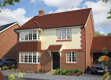 "Thumbnail 4 bed detached house for sale in ""The Canterbury"" at Station Road, Salford Priors, Evesham"