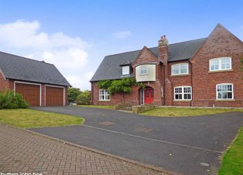 Thumbnail 5 bedroom detached house for sale in Kingsdown Close, Wychwood Park, Crewe