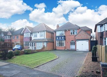 Thumbnail 4 bed detached house for sale in Widney Lane, Shirley, Solihull