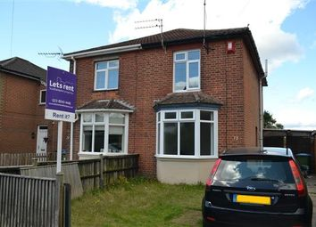 Thumbnail 3 bed semi-detached house to rent in Whites Road, Southampton