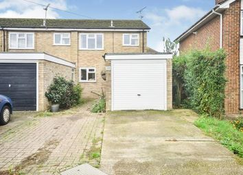Thumbnail 3 bed end terrace house for sale in Quantock Drive, Ashford, Kent, England
