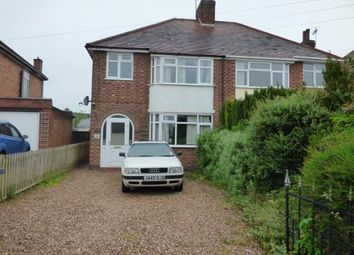 Thumbnail 3 bed semi-detached house for sale in Belle Vue Road, Earl Shilton, Leicester, Leicestershire