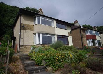 Thumbnail 2 bed semi-detached house for sale in Kingswood Green, Stump Cross, Halifax