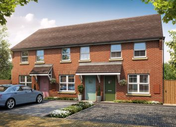 """Thumbnail 2 bed terraced house for sale in """"Darwin"""" at Fen Street, Brooklands, Milton Keynes"""