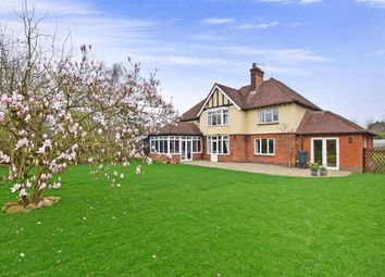 Thumbnail 5 bed detached house for sale in Rectory Lane North, Leybourne, West Malling, Kent