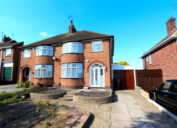 Thumbnail 3 bed semi-detached house to rent in Letchworth Road, Western Park, Leicester