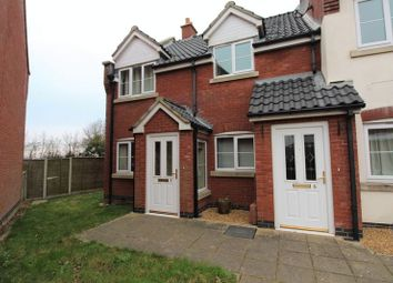 Thumbnail 2 bed flat for sale in Kingfisher Close, Stalham, Norwich