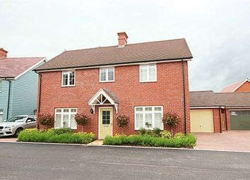 Thumbnail 4 bedroom detached house for sale in Russell Francis Way, Takeley, Bishop's Stortford, Herts