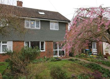 Thumbnail 4 bed semi-detached house for sale in Webster Close, Oxshott, Surrey