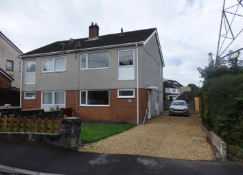 Thumbnail 3 bed semi-detached house for sale in Brynmorlais, Bryn, Llanelli