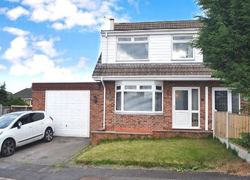 Thumbnail 3 bed semi-detached house for sale in Gate Brook Close, Codnor, Ripley