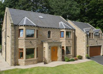 Thumbnail 6 bed detached house for sale in Washer Lane, Halifax, West Yorkshire