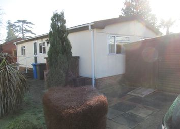 Thumbnail 2 bed mobile/park home for sale in Newtonside Orchard, Burfield Road, Old Windsor, Berkshire