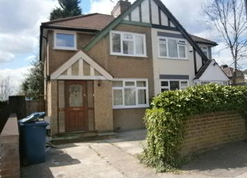 Thumbnail 3 bed semi-detached house to rent in Windsor Road, Harrow