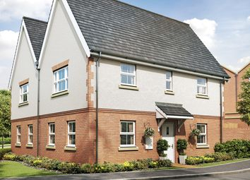 "Thumbnail 3 bed semi-detached house for sale in ""The York"" at Woodcroft Lane, Waterlooville"