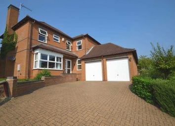 Thumbnail 4 bed detached house for sale in Comfrey Close, Walnut Tree, Milton Keynes