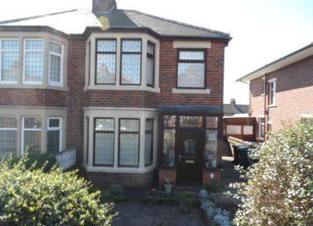 Thumbnail 3 bed semi-detached house for sale in Patterdale Avenue, Blackpool