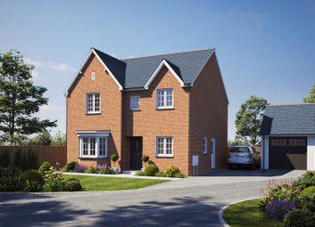 Thumbnail 4 bedroom detached house for sale in Secmaton Lane, Dawlish
