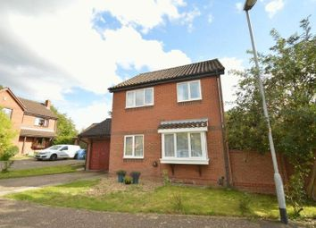 Thumbnail 4 bed link-detached house to rent in Layer Close, Norwich