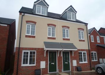 Thumbnail 3 bed semi-detached house to rent in Prospero Close, Penkridge, Staffs