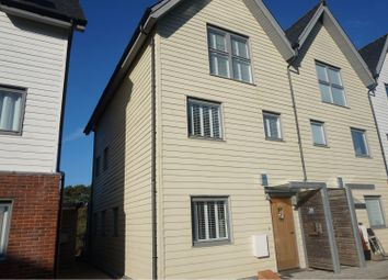 Thumbnail 4 bed town house for sale in Heron Square, Newport