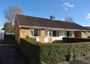 Thumbnail 2 bed semi-detached bungalow for sale in Highfield Road, Ripon