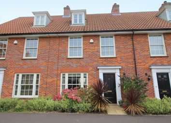 Thumbnail 3 bed town house for sale in Lord Nelson Drive, New Costessey, Norwich