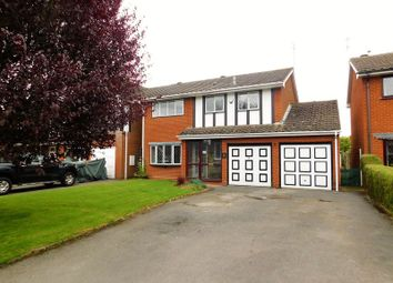 Thumbnail 4 bed detached house for sale in St. Michaels Close, Penkridge, Stafford