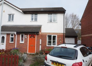 Thumbnail 3 bed semi-detached house for sale in Witham Close, Taunton