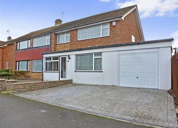 Thumbnail 5 bedroom semi-detached house for sale in Imperial Drive, Gravesend, Kent