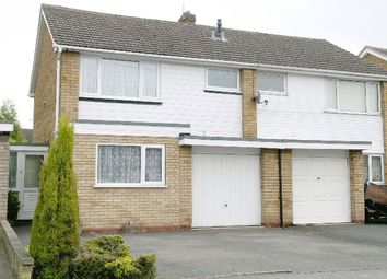 Thumbnail 3 bed semi-detached house to rent in Reindeer Road, Fazeley, Tamworth, Staffs