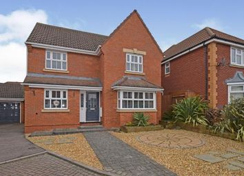 Thumbnail 4 bed detached house for sale in Coltsfoot Road, Hamilton, Leicester, Leicestershire