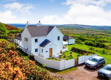 Thumbnail 4 bed farmhouse for sale in Penmynydd Farm, Llanmadoc Hill, Llanmadoc, Gower