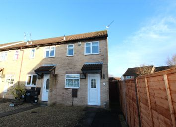 Thumbnail 2 bed end terrace house to rent in Bramwell Close, Stratton, Swindon, Wiltshire