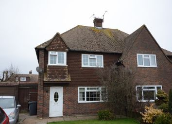 Thumbnail 3 bed semi-detached house for sale in Lansdowne Crescent, Hailsham, East Sussex