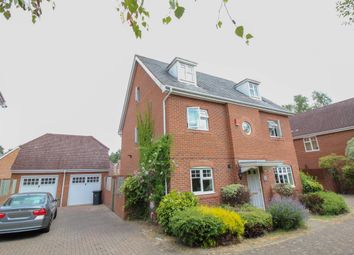 Thumbnail 6 bed detached house to rent in Cudbury Drive, Fleet