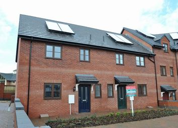 Thumbnail 3 bed end terrace house for sale in Cullompton