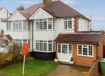 Thumbnail 3 bed semi-detached house for sale in Oakwood Avenue, Borehamwood, Borehamwood