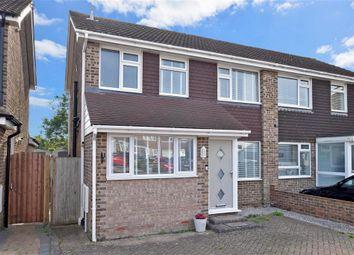 Thumbnail 4 bed semi-detached house for sale in Hornbeam Road, Denvilles, Havant, Hampshire