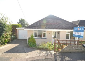 Thumbnail 2 bed detached bungalow to rent in Langarron Park, Barnstaple