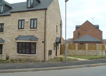 Thumbnail 4 bed semi-detached house for sale in Bluebell Walk, Creswell, Worksop