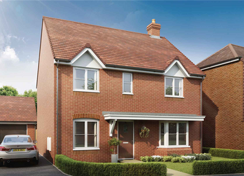 """Thumbnail 4 bed detached house for sale in """"The Manford - Plot 118"""" at Stoke Road, Hoo, Rochester"""