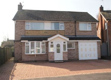 Thumbnail 4 bed detached house for sale in Fairway, Kibworth, Leicester