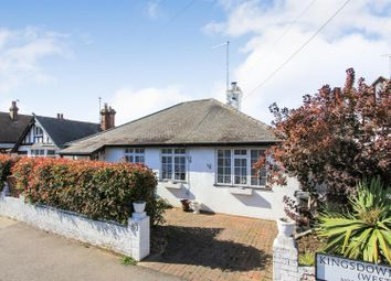 Thumbnail 2 bed detached bungalow for sale in Kingsdown Park, Tankerton, Whitstable